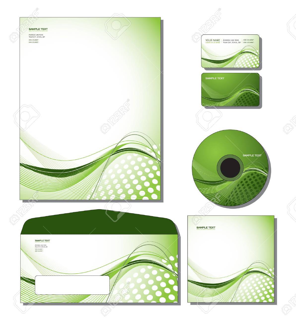 Cd box template download free vector art stock graphics amp images - Vector Cd Template Corporate Identity Template Vector Letterhead Business And Gift Cards