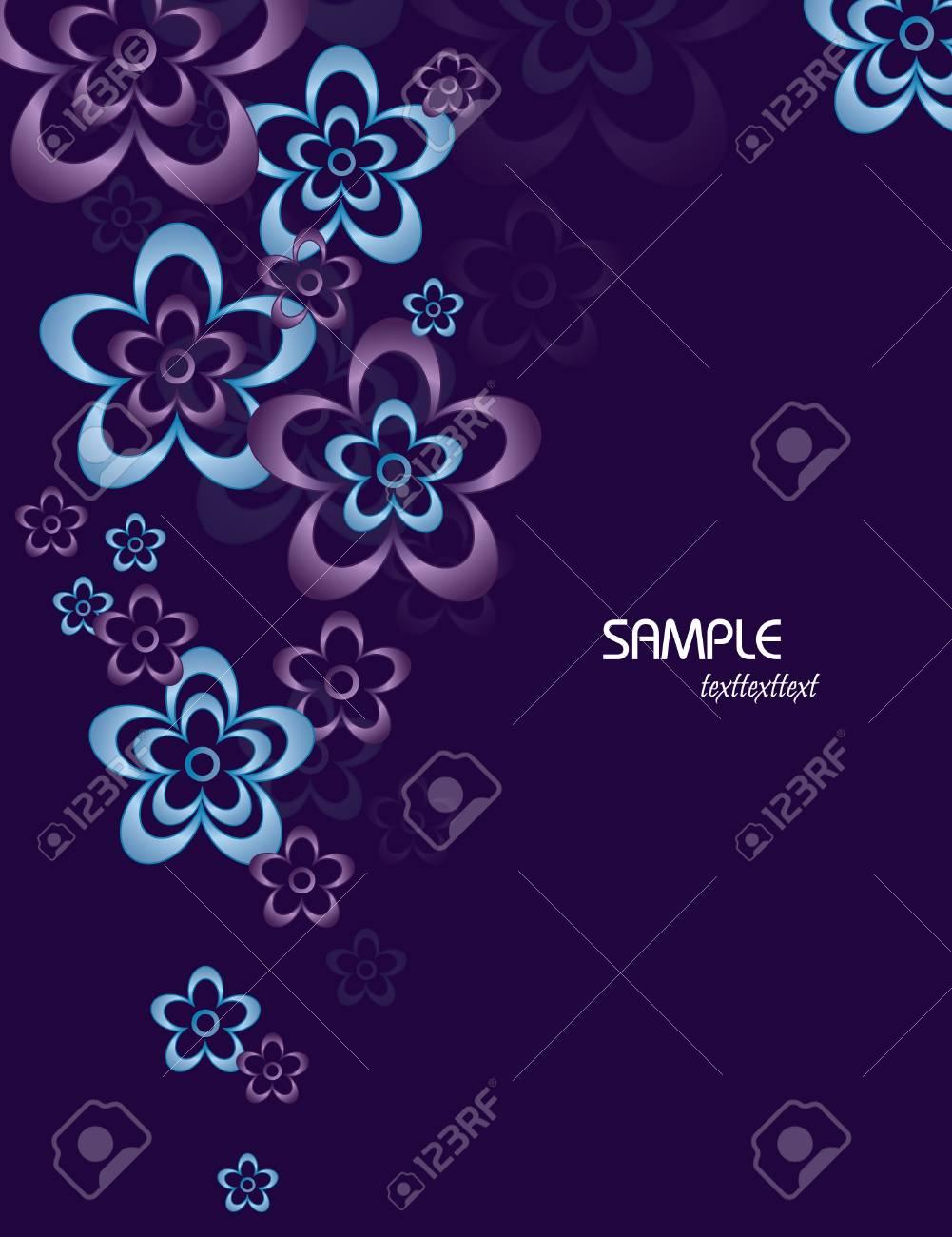 Floral Background  Vector Illustration  Eps10 Stock Vector - 13005133