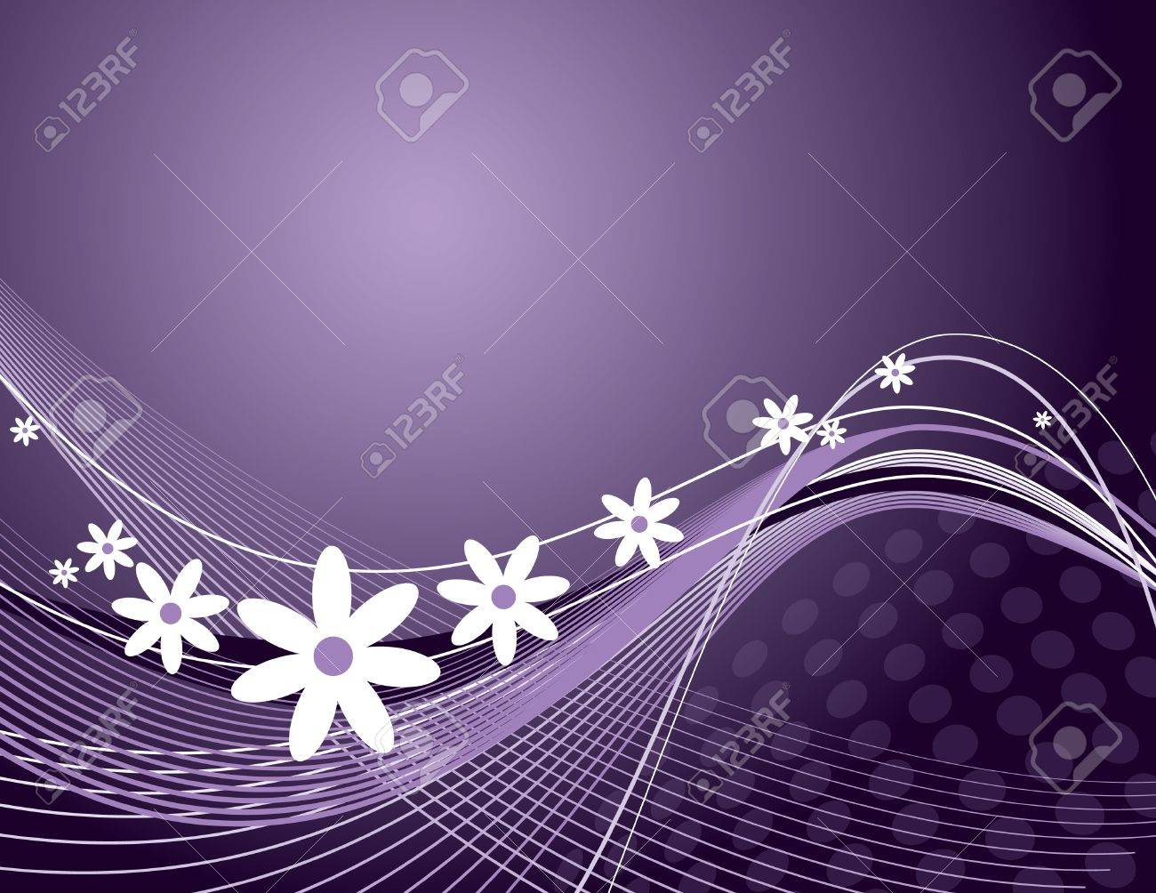 Floral Background  Vector Illustration Stock Vector - 13107106