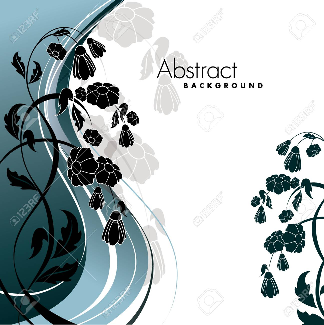 Floral Background Stock Vector - 14235172