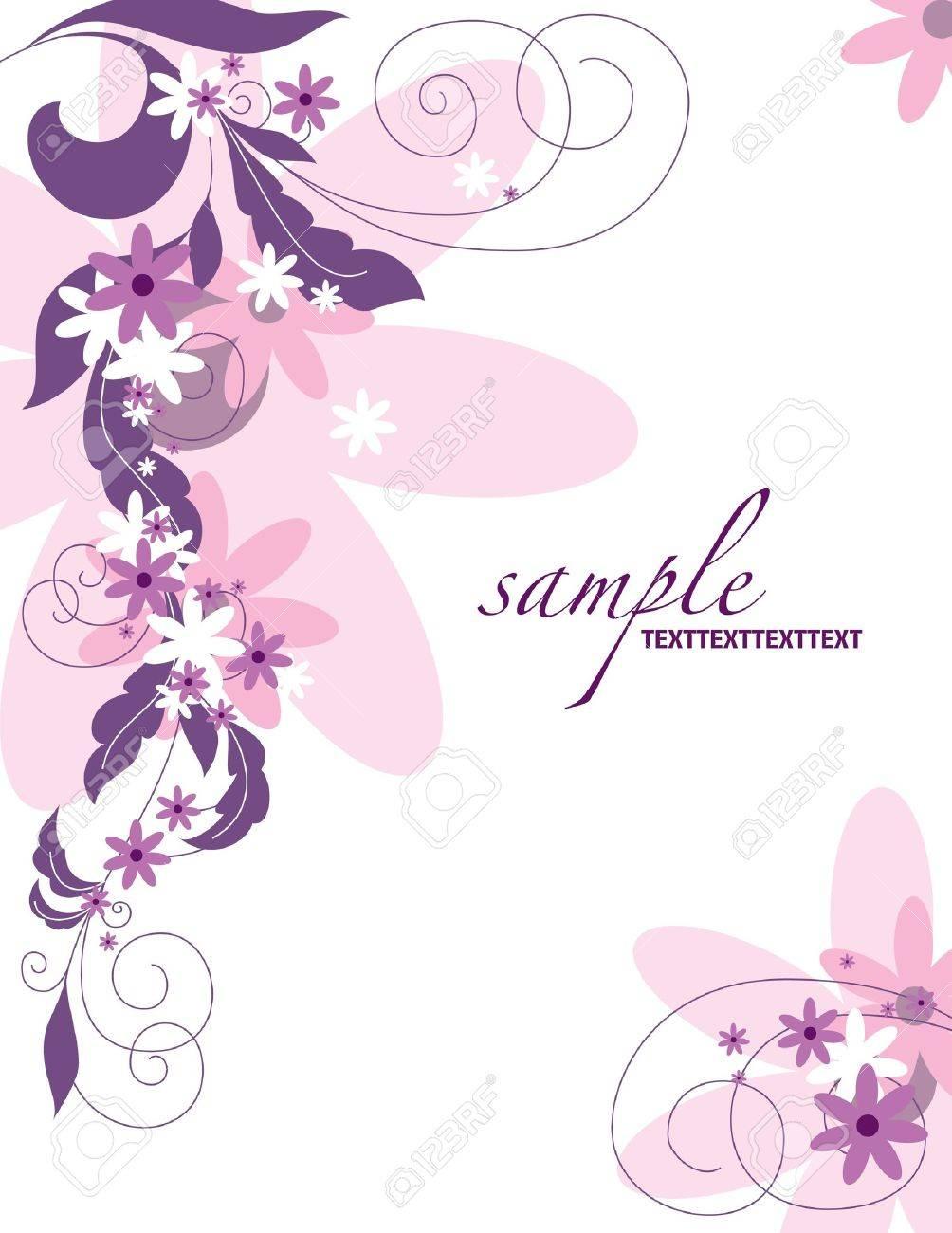 Floral Background   Illustration Stock Vector - 14667113