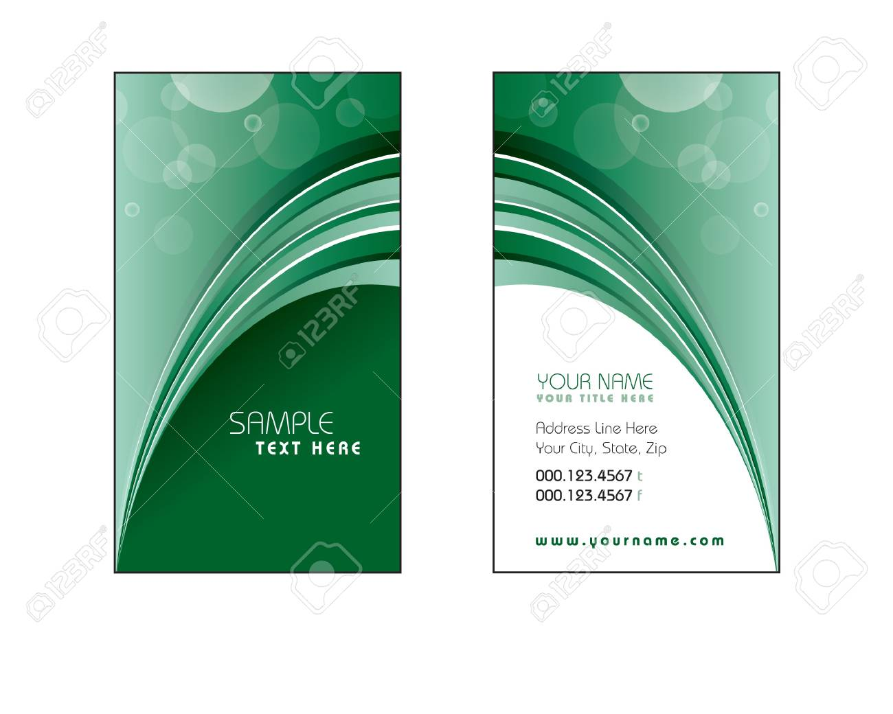 Business Card Template  Eps10 Stock Vector - 14985688