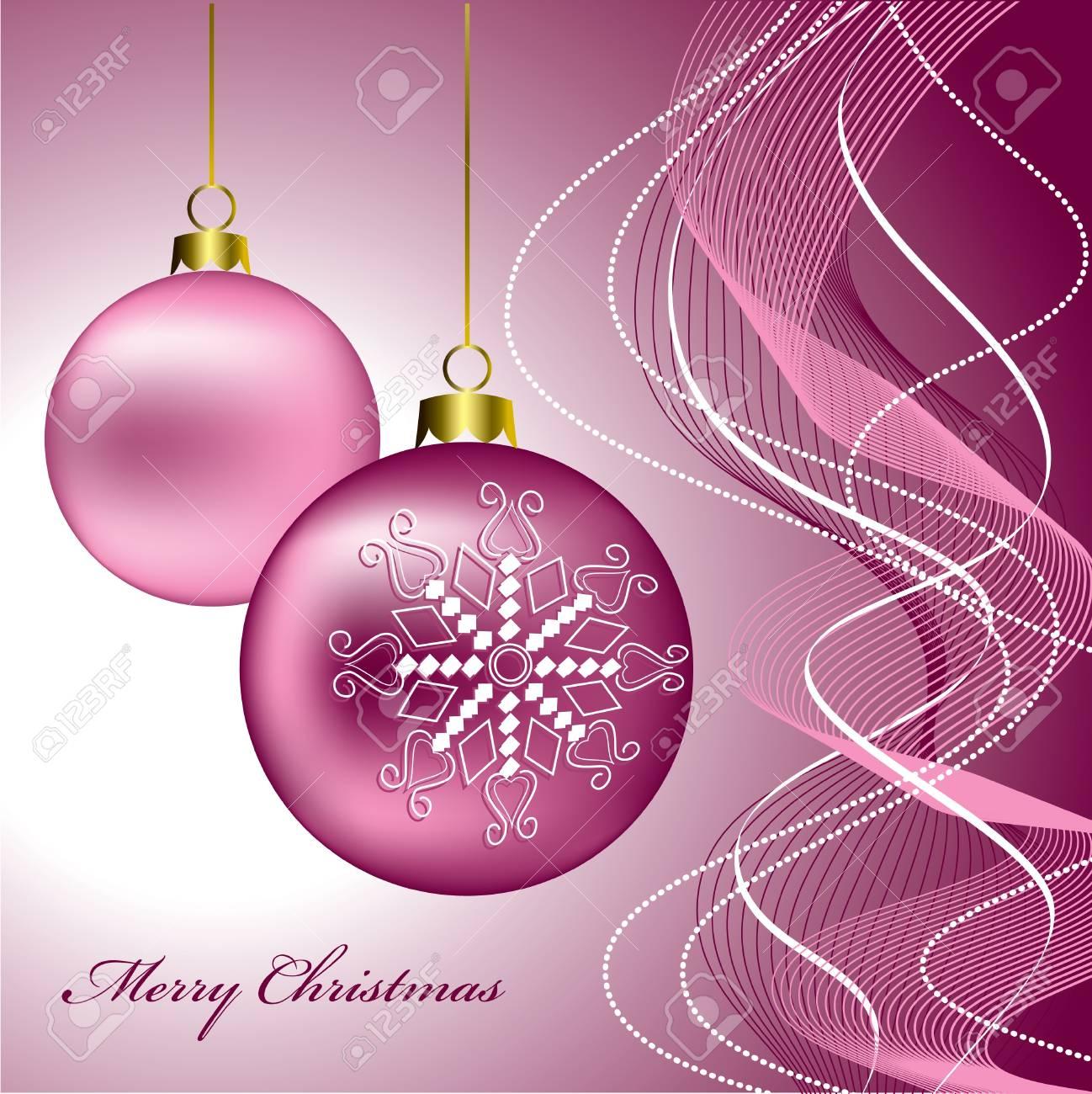 Christmas Background  Vector Illustration  eps10 Stock Vector - 14985694
