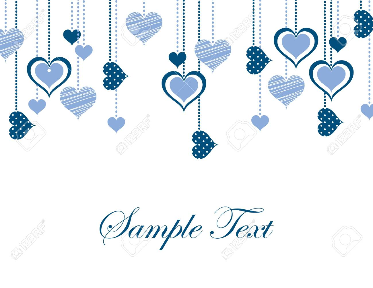Valentines Day Background  Vector Illustration Stock Vector - 17303420