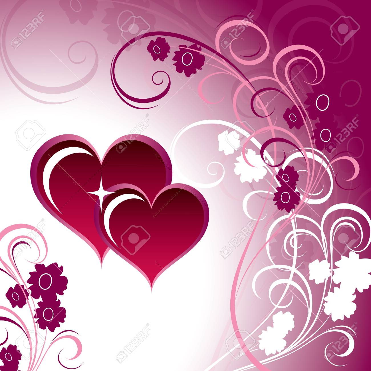 Valentines Day Background   Illustration Stock Vector - 17346175