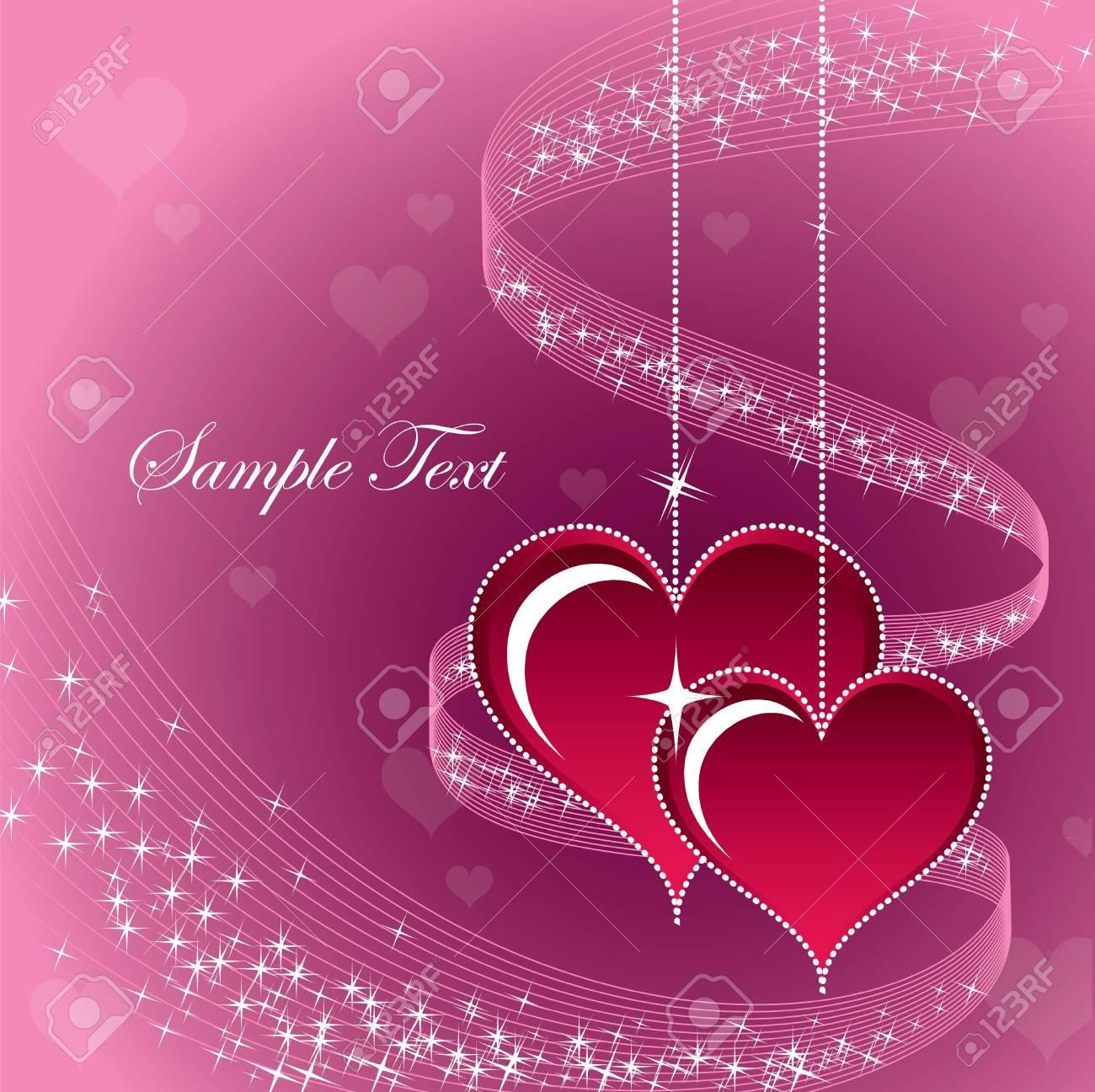 Valentines Day Background   Illustration Stock Vector - 17346131