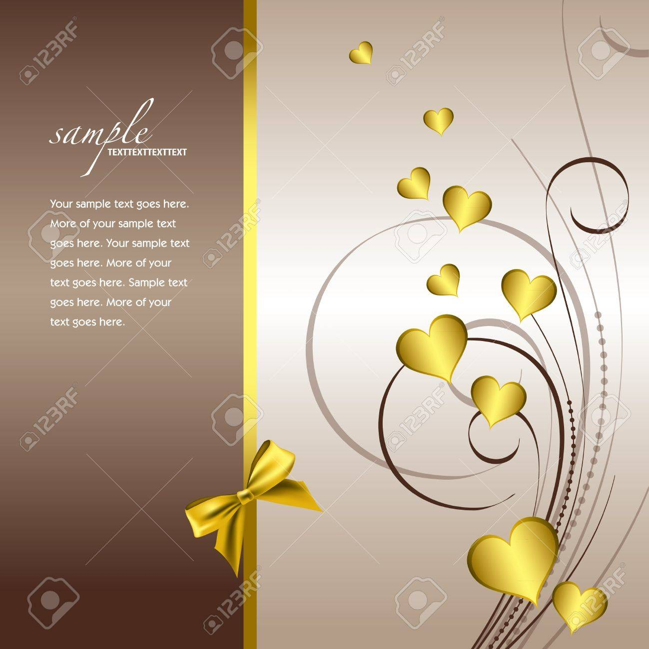 Valentines Day Background Stock Vector - 17373548