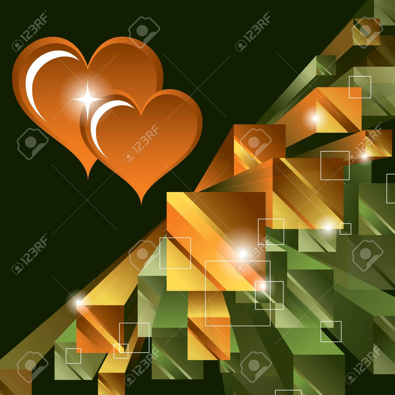Valentines Day Background Stock Vector - 17622625