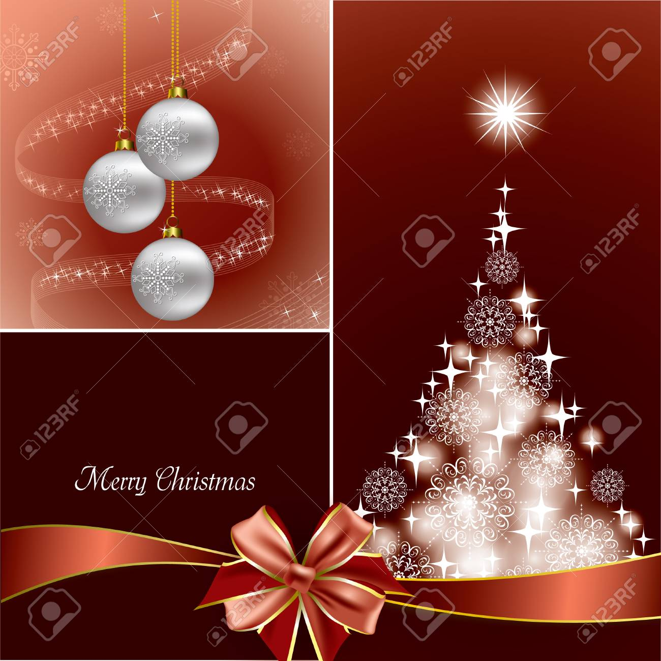 Christmas Background Stock Vector - 23549846