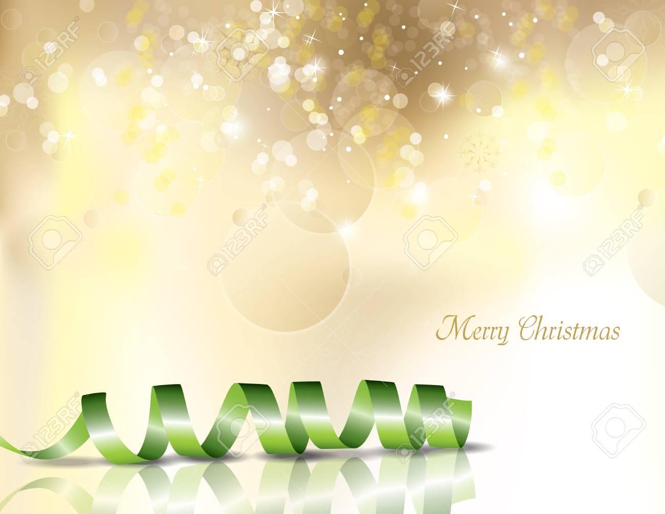 クリスマスの背景キラキラのイラストですのイラスト素材ベクタ