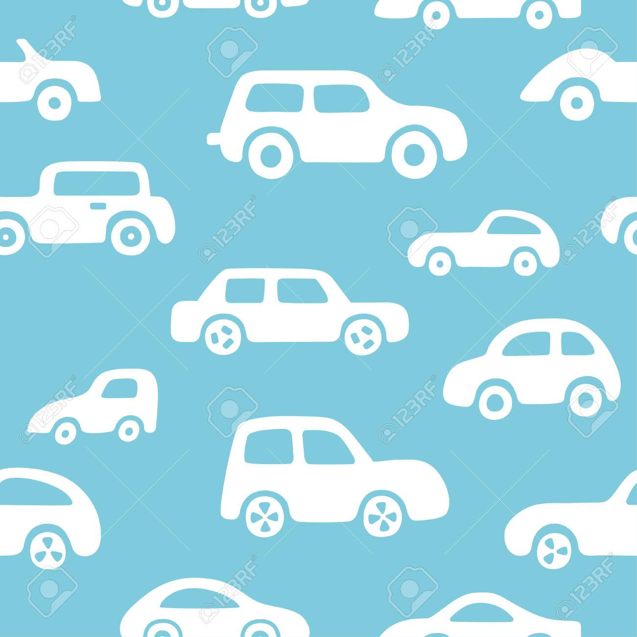 Doodle cars background seamless baby boy pattern in vector doodle cars background seamless baby boy pattern in vector texture for wallpaper fills voltagebd Image collections