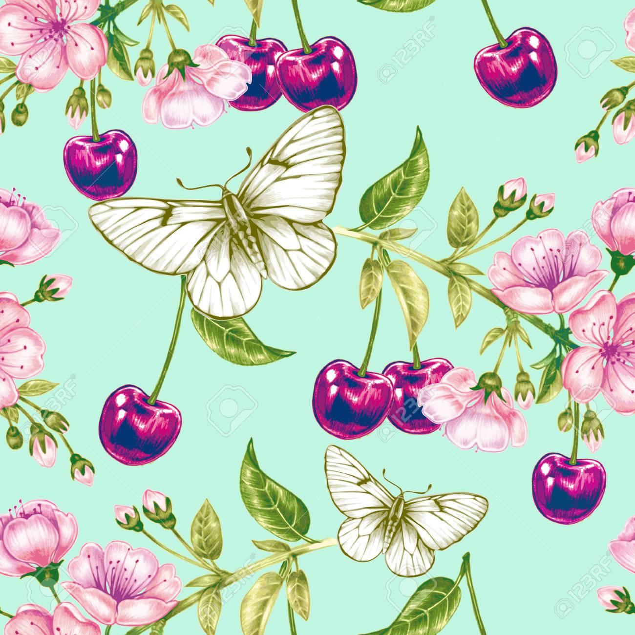 Vistoso Diseño De La Flor Para El Arte Del Uña Ornamento - Ideas ...