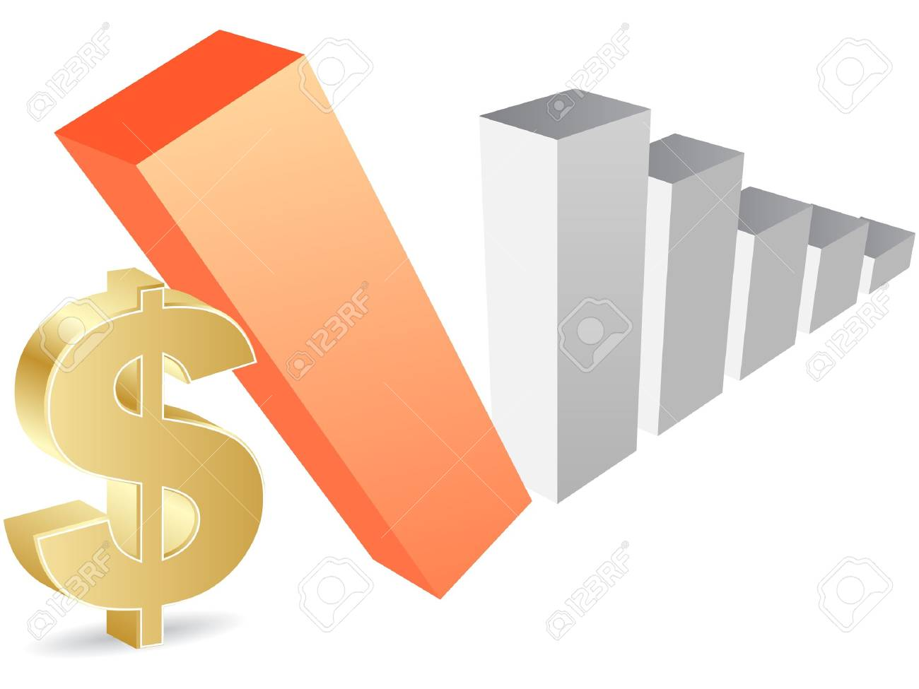 dollar evolution Stock Vector - 10287674
