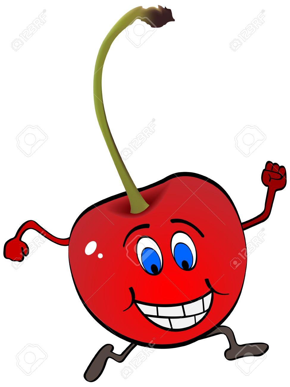 cherry cartoon stock photos u0026 pictures royalty free cherry