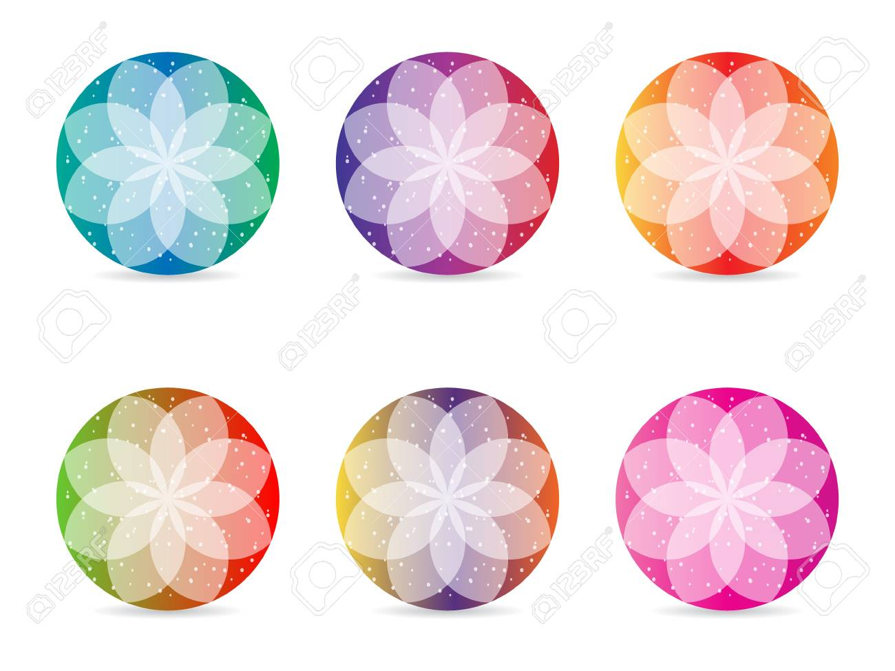 abstract flower design Stock Vector - 10288772