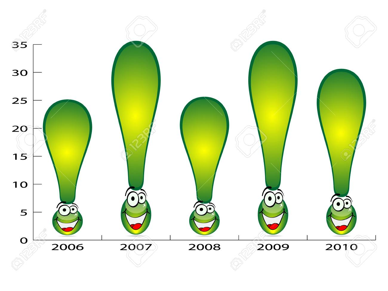 exclamation graphic Stock Vector - 10288388