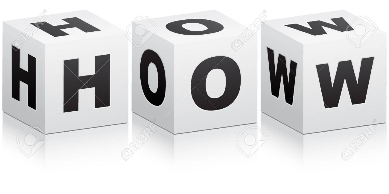 how word Stock Vector - 10450418