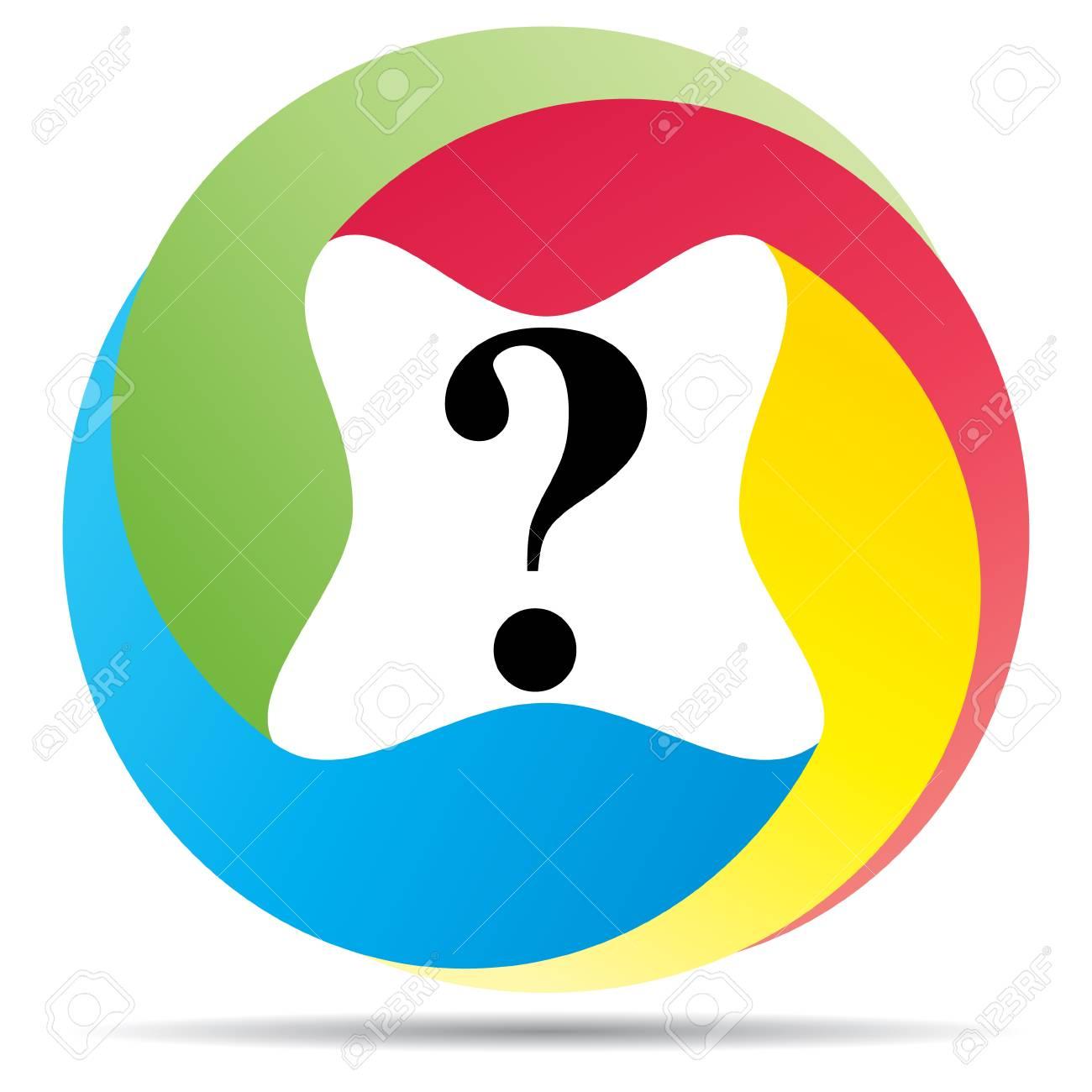 question button Stock Vector - 10466628