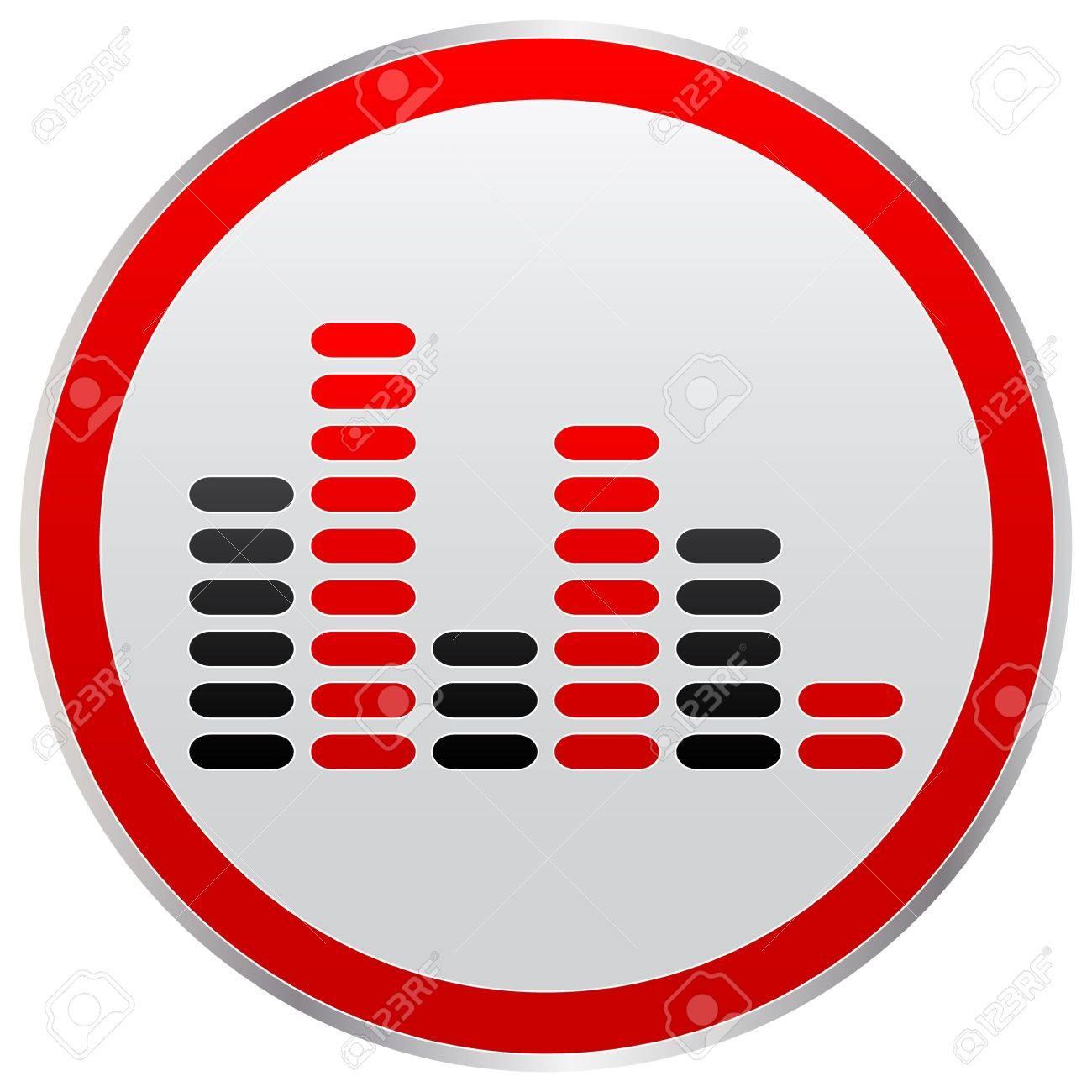 musical button Stock Vector - 10466083