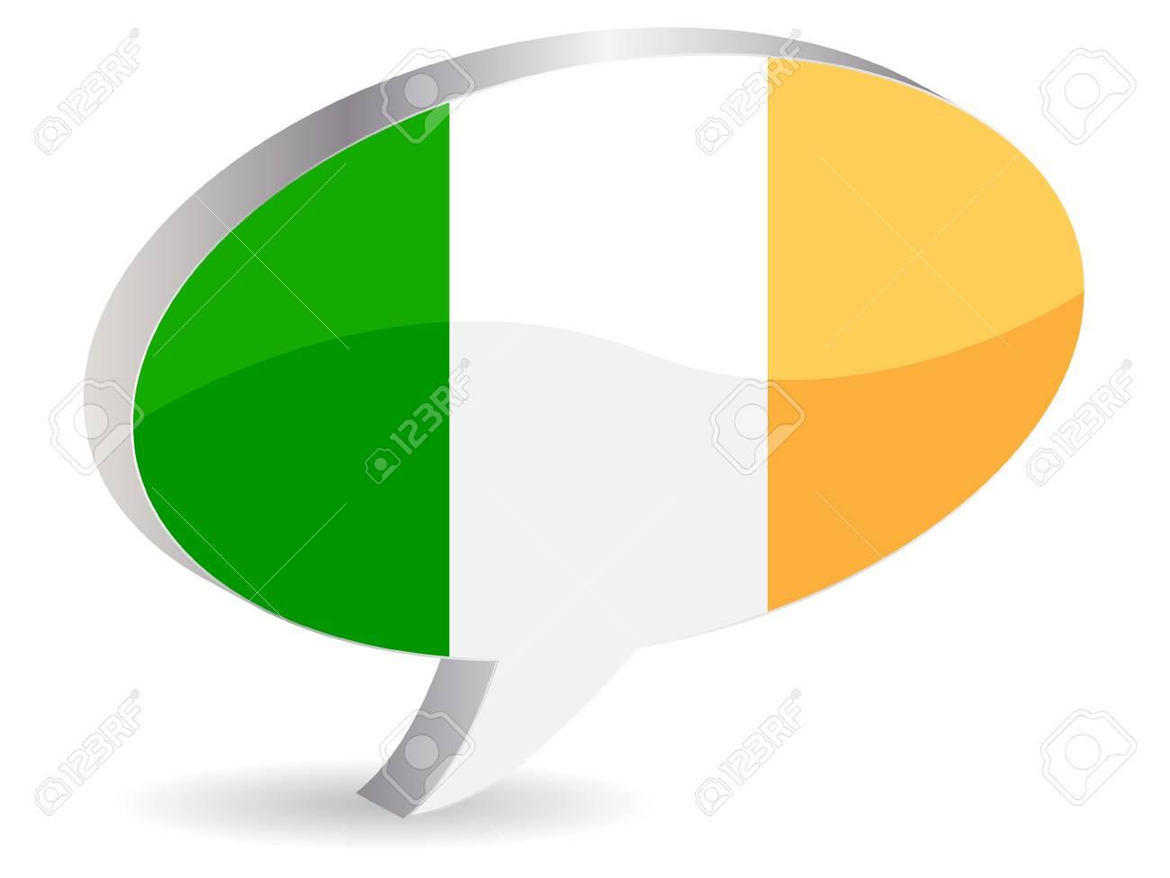 flag of ireland Stock Vector - 10471010