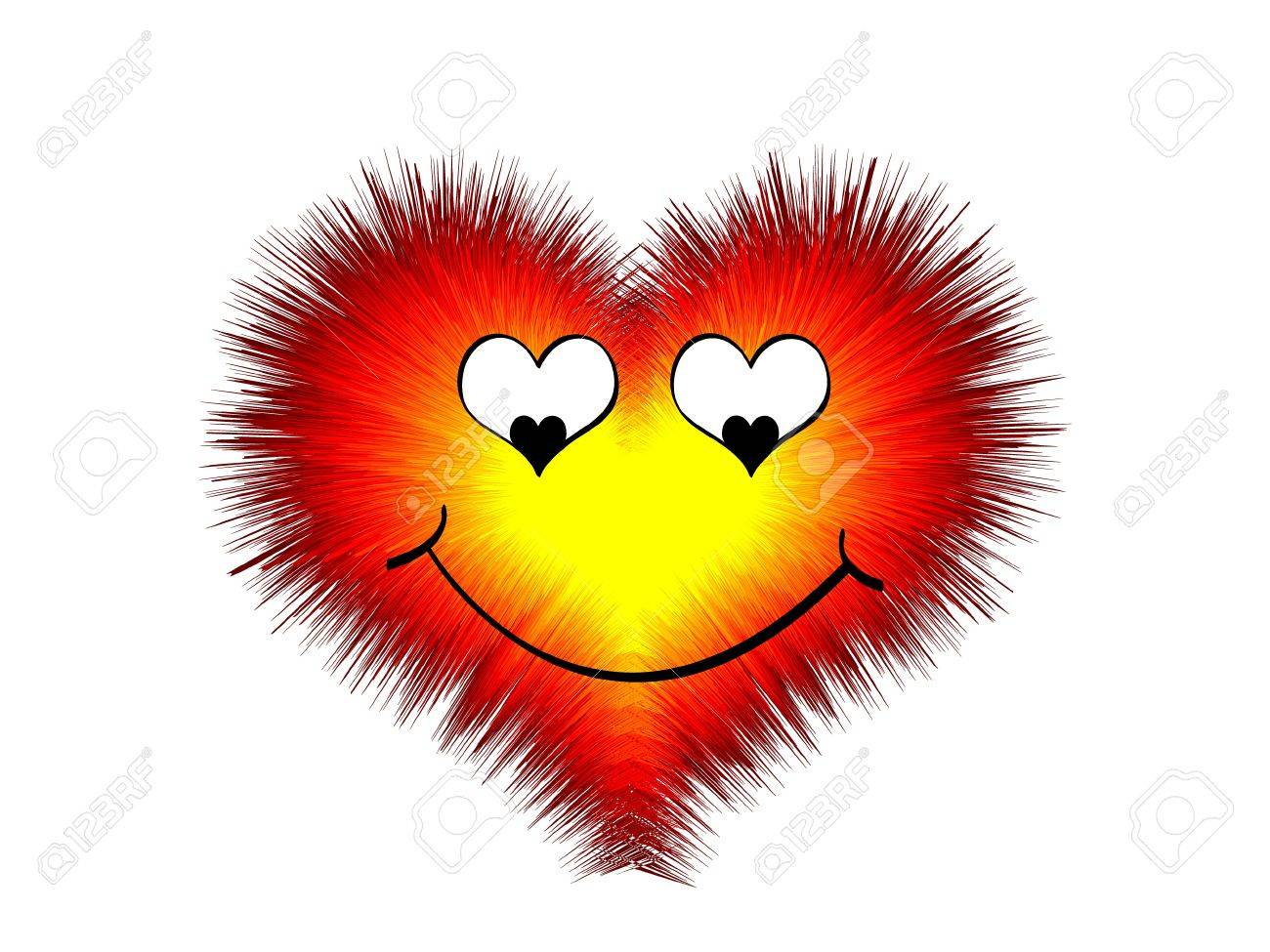 Berühmt Coeur D'amour Drôle Clip Art Libres De Droits , Vecteurs Et  UQ47