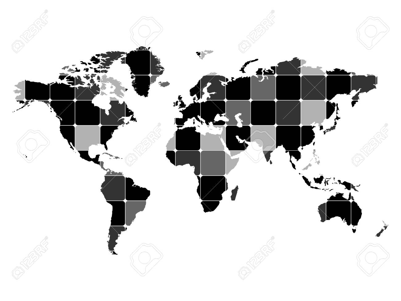 Abstract world map vector illustration royalty free cliparts abstract world map vector illustration stock vector 10706036 gumiabroncs Choice Image