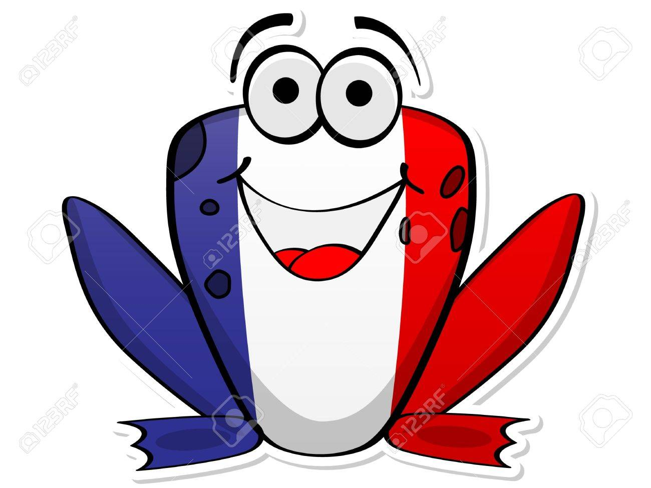 french frog Stock Vector - 10806048