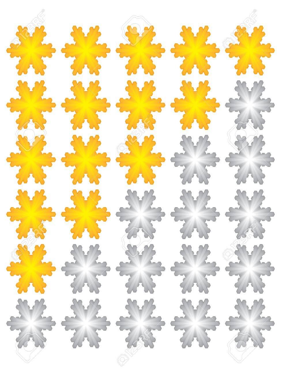 rating stars Stock Vector - 10805599