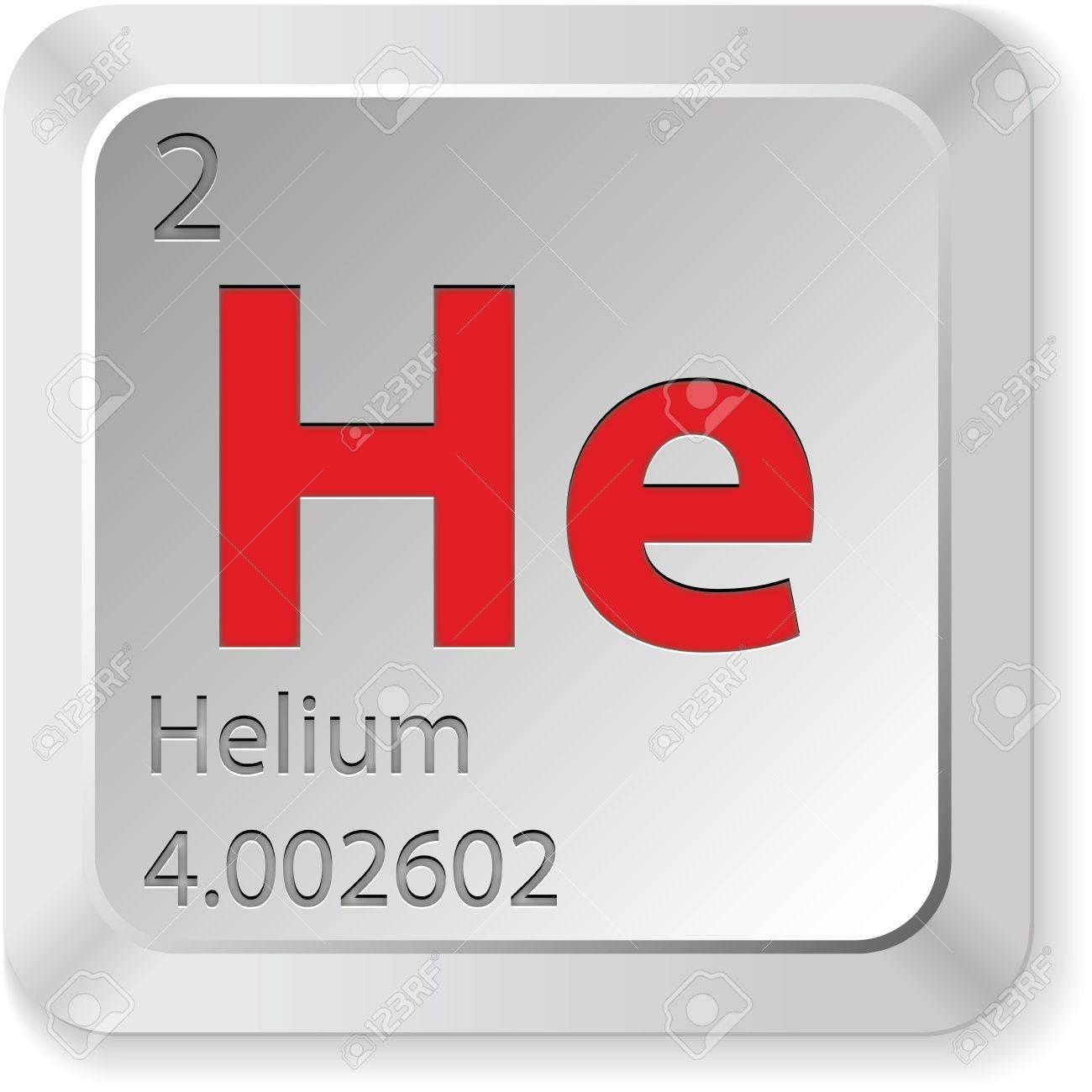 helium button Stock Vector - 14982846