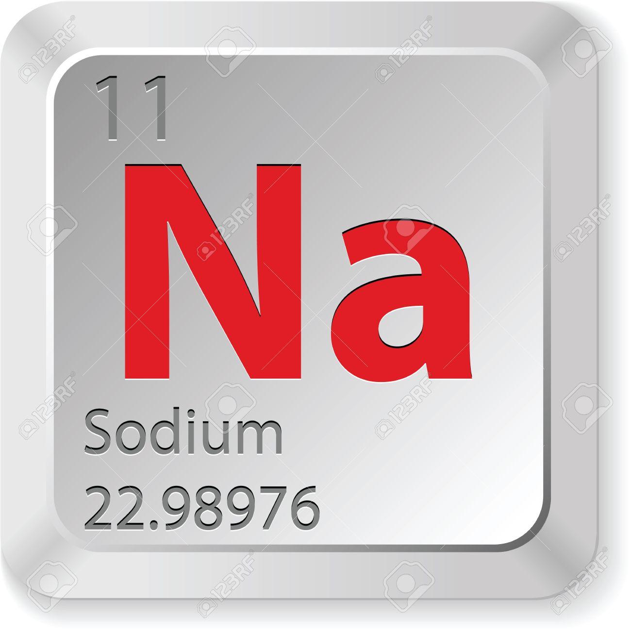 sodium button Stock Vector - 16135729