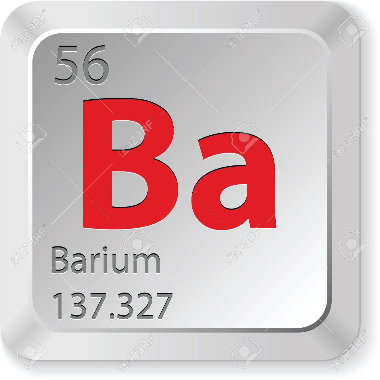 Barium element royalty free cliparts vectors and stock barium element biocorpaavc Images