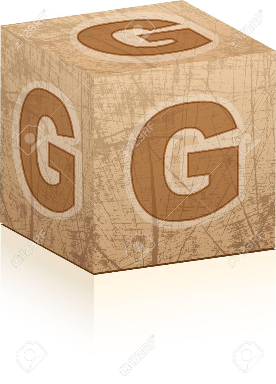 letter g Stock Vector - 17805398