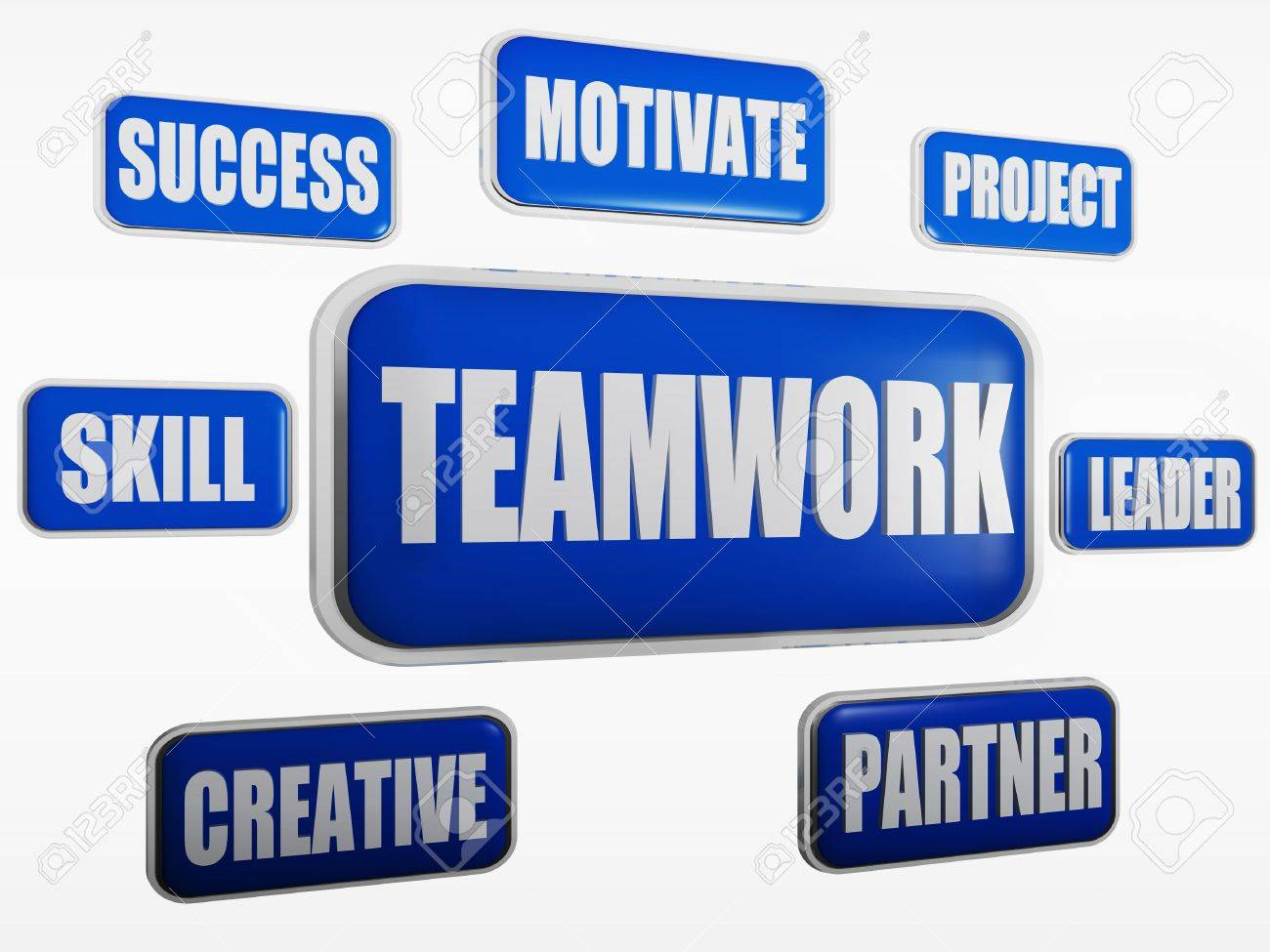 Teamwork, Motivate, Project, Success, Leader, Skill, Creative ...