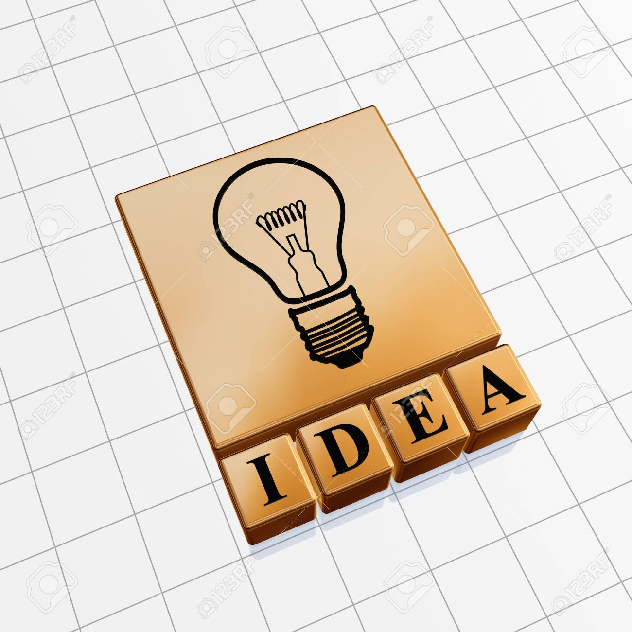 Idea concept image of text and light bulb sign Stock Photo - 13219687