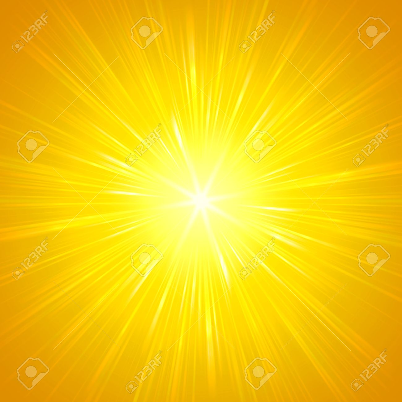 Abstract Background, Yellow Star With Shining Light Rays Stock ... for Yellow Light Rays Background  303mzq