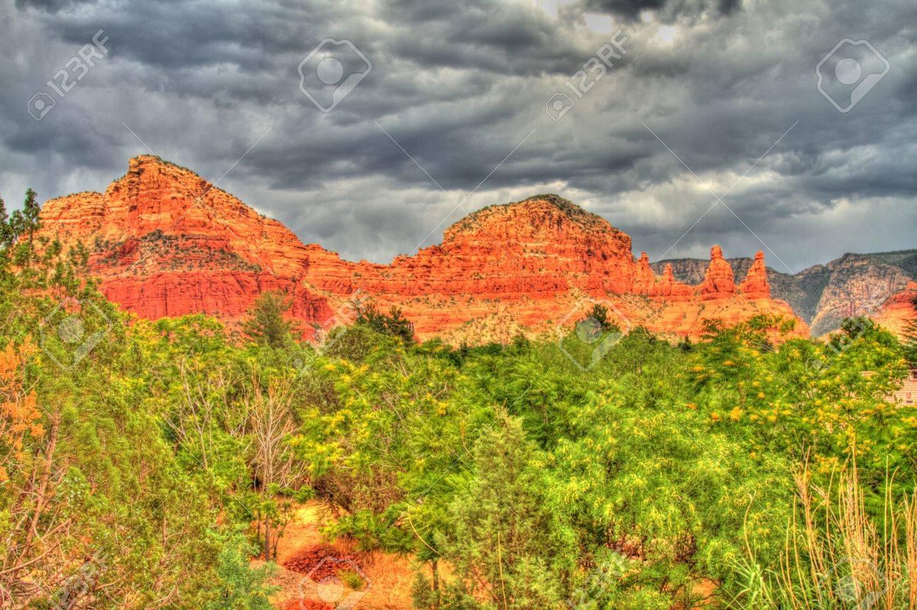 Sedona, Arizona HDR Photography Stock Photo - 10511148