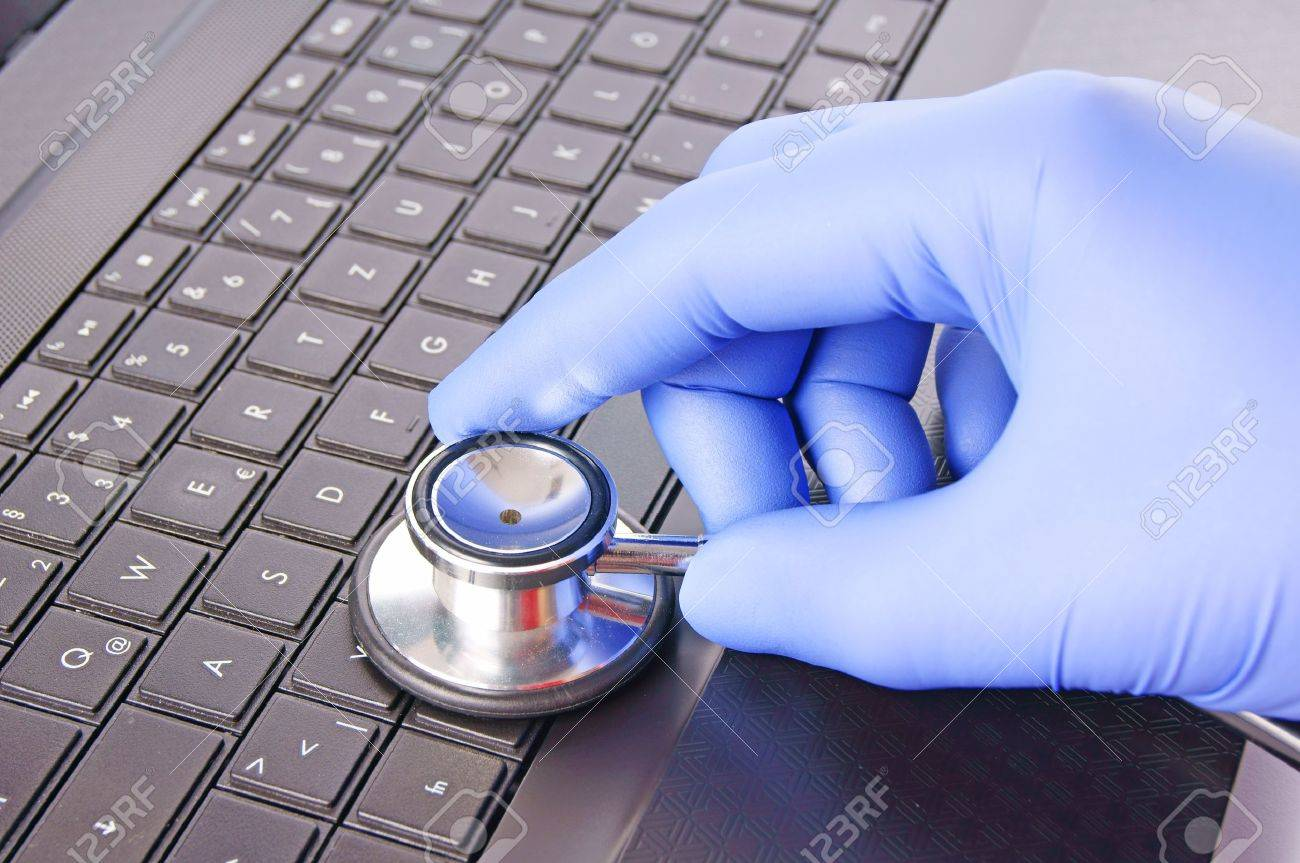 virus scanner Stock Photo - 10462676