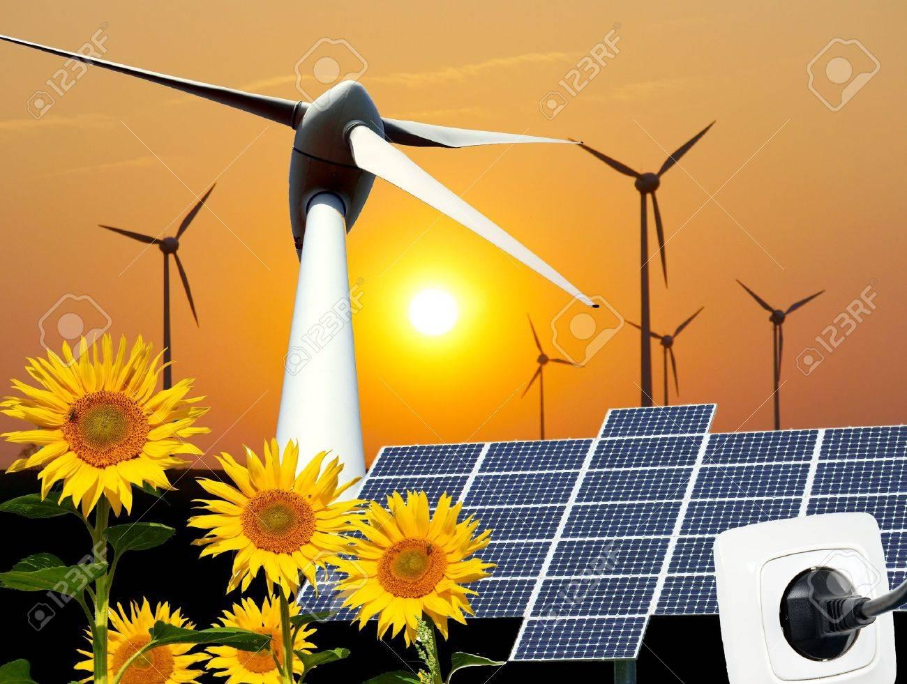 renewable energies - 15364294