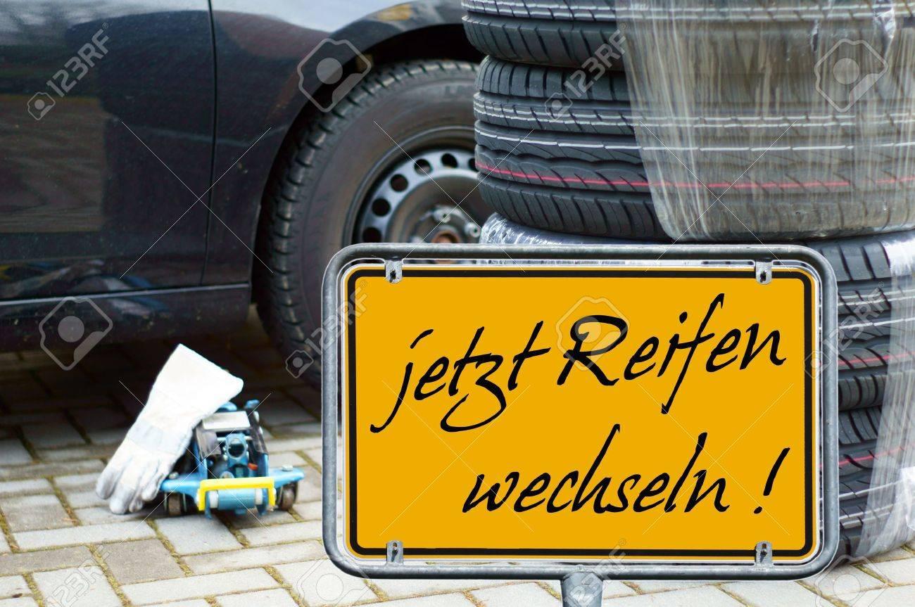 german Shield - change tires now - 16220914