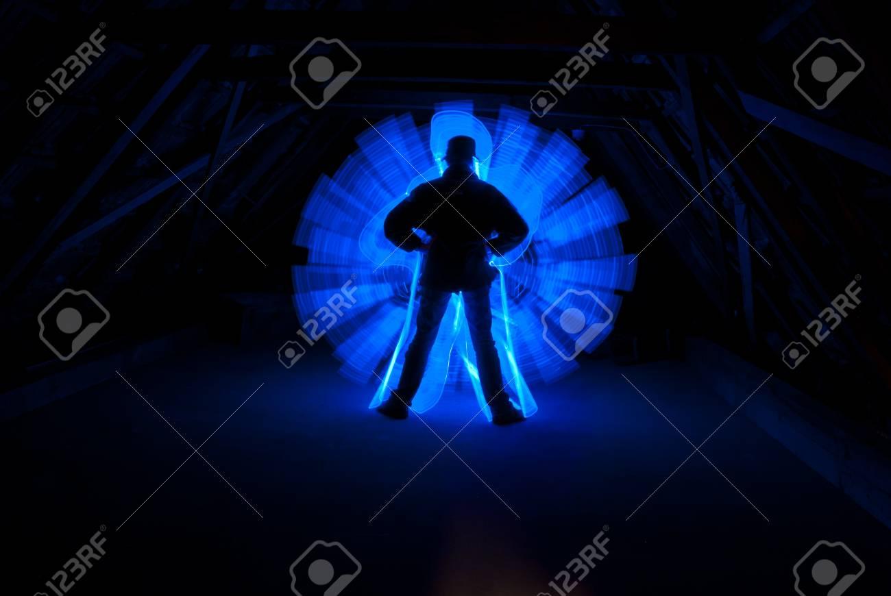 Men at work Standard-Bild - 15279960