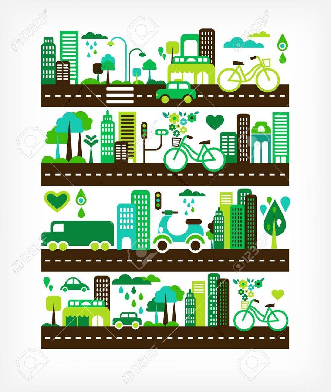 green city - environment and ecology - 13955810