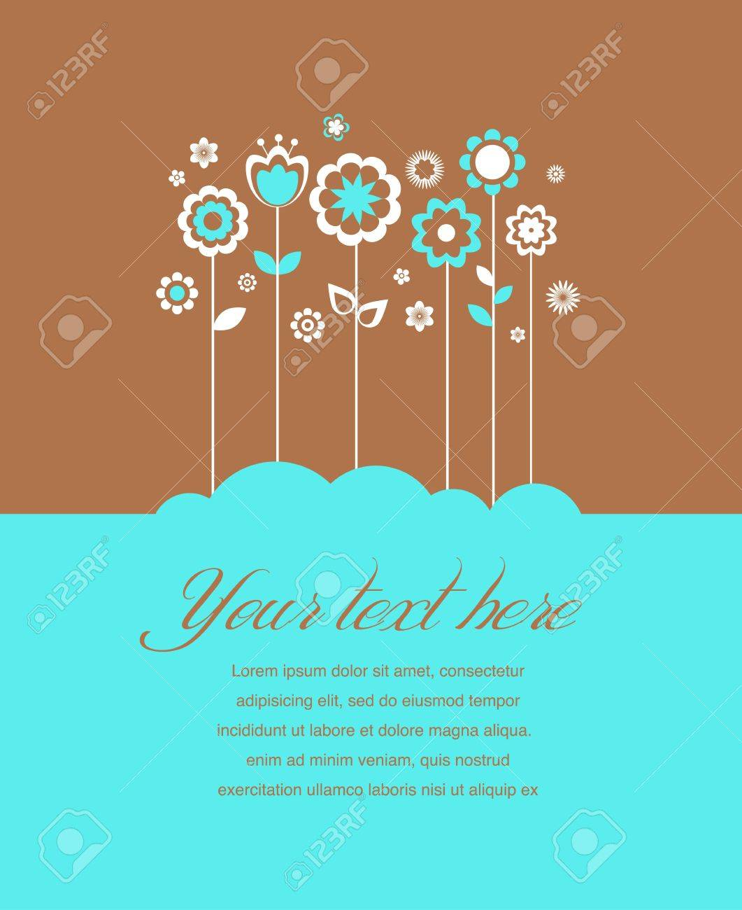 Greeting card, invitation, wedding or announcement Stock Vector - 14265980