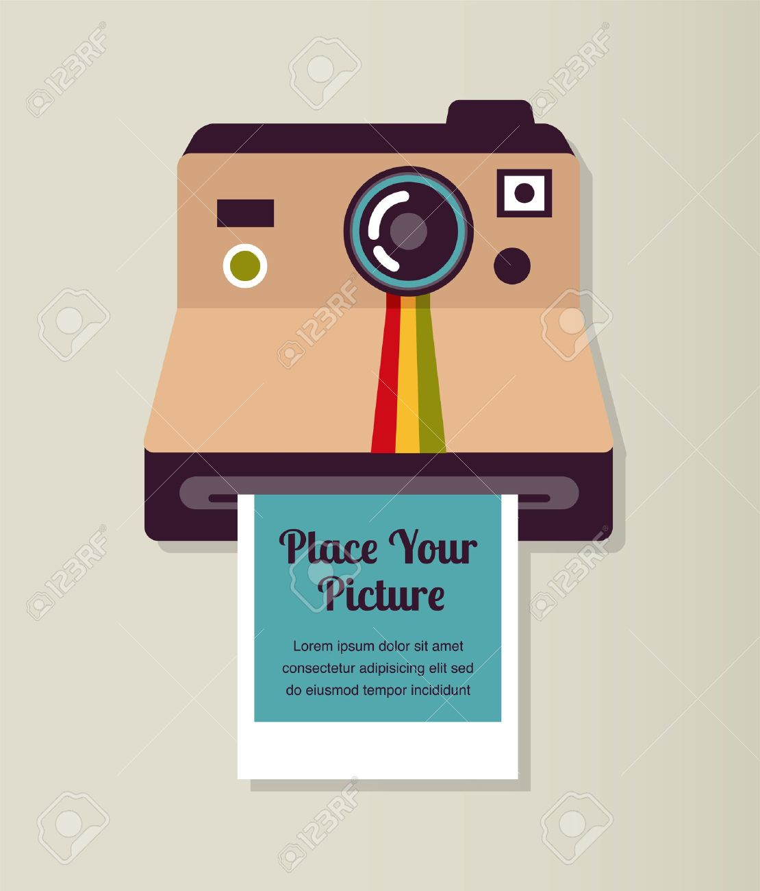 1,196 Polaroid Stock Vector Illustration And Royalty Free Polaroid ...