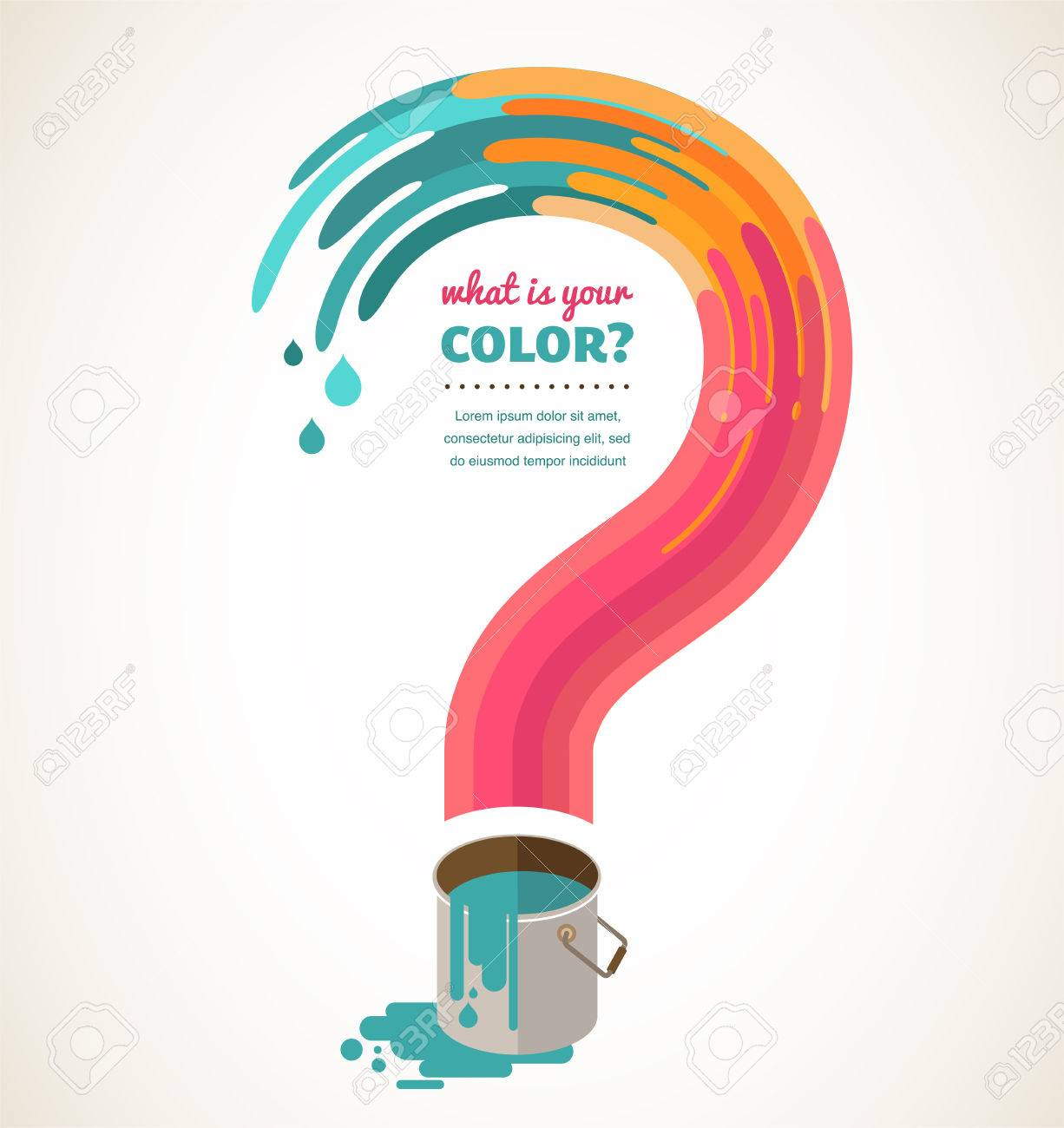 What color do you love question mark color splash creative what color do you love question mark color splash creative concept stock photo biocorpaavc Images