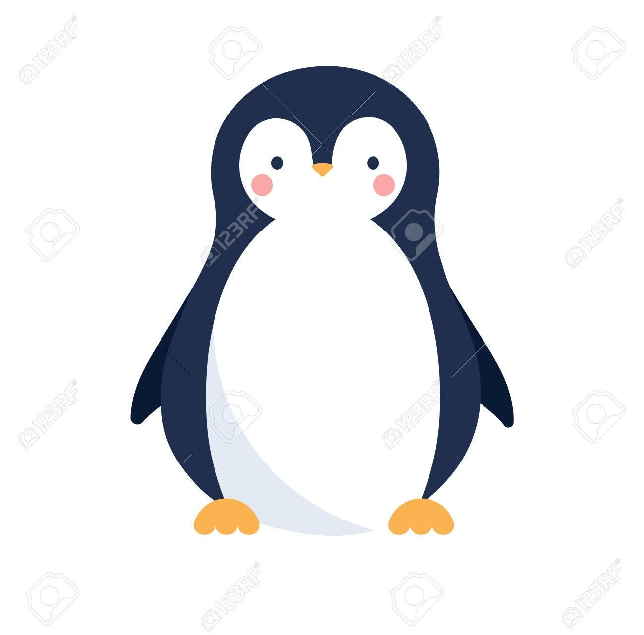 かわいいペンギンのアイコンのイラスト素材ベクタ Image 66436480