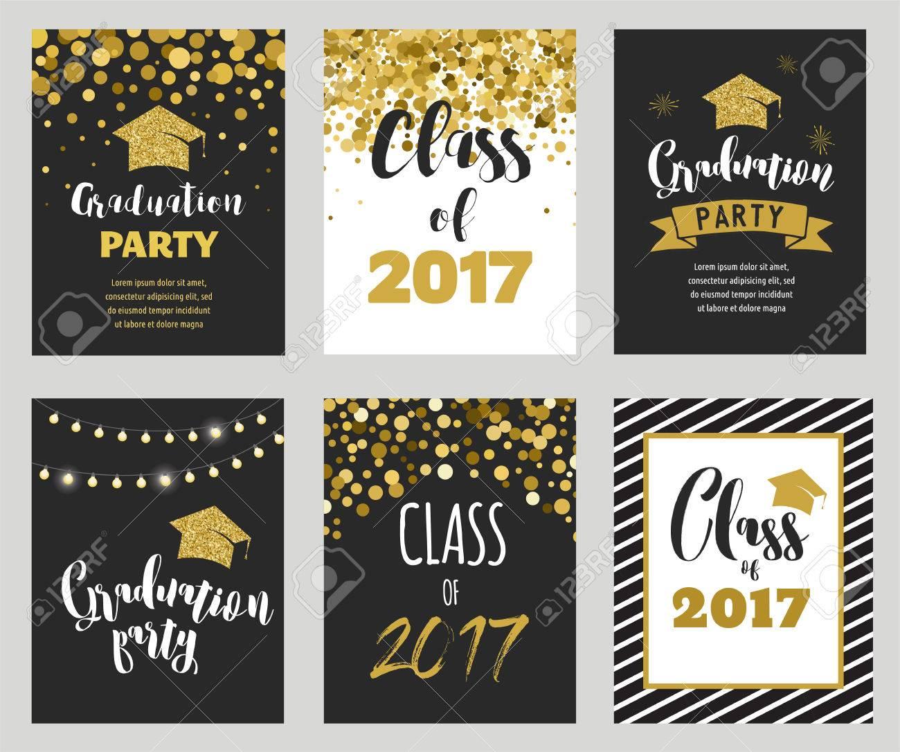 Graduation Class of 2017, party invitations - 77471925