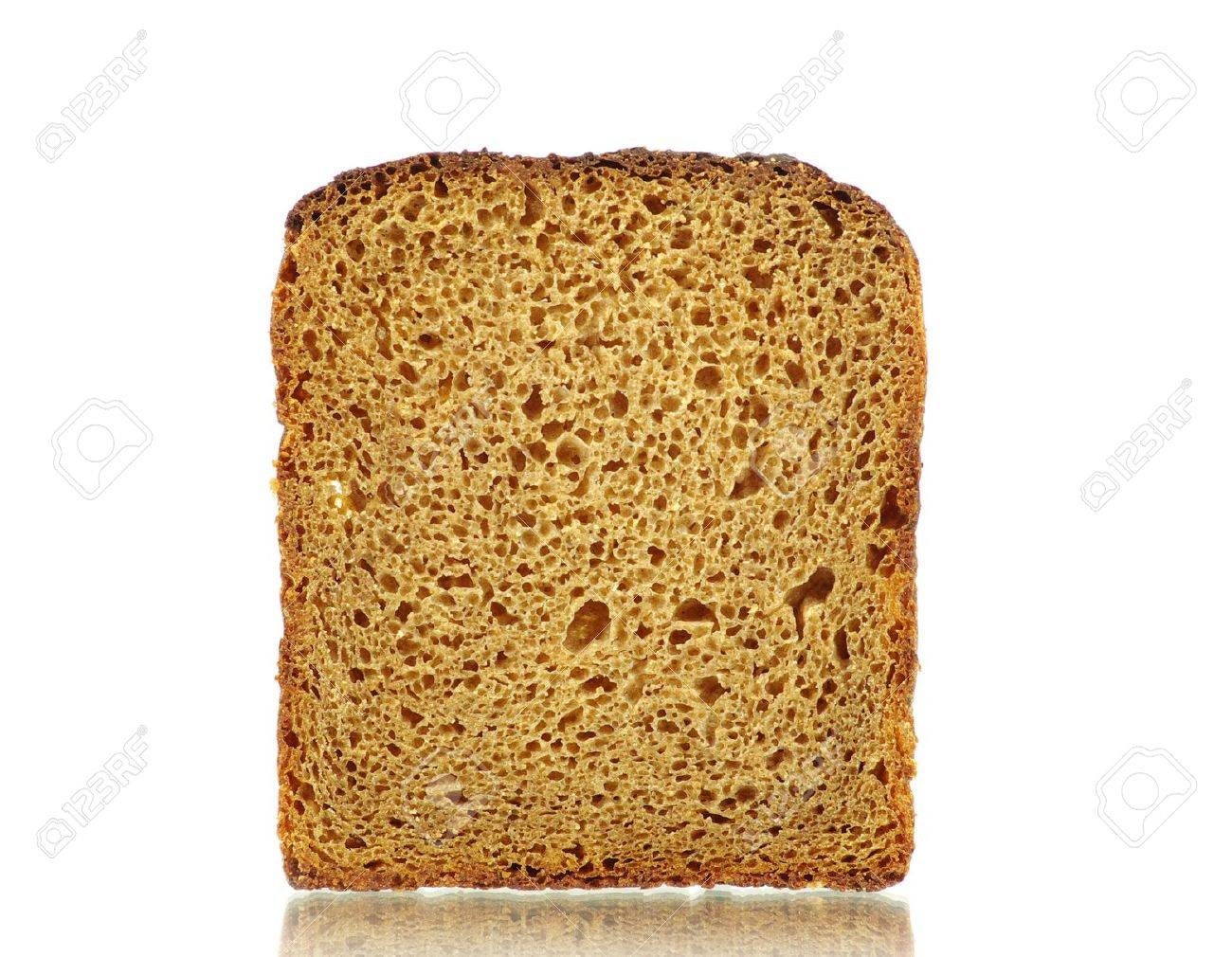 bread isolated on a white Stock Photo - 11942003