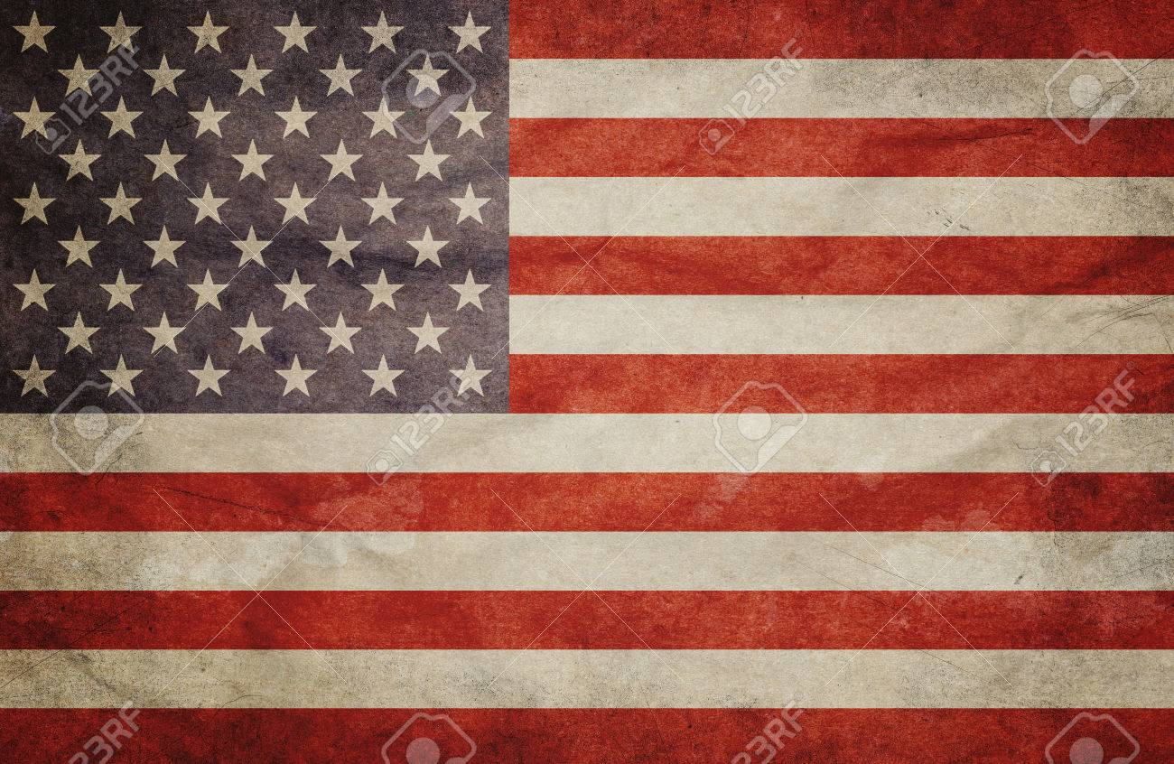 Grunge USA Flag - 45613241