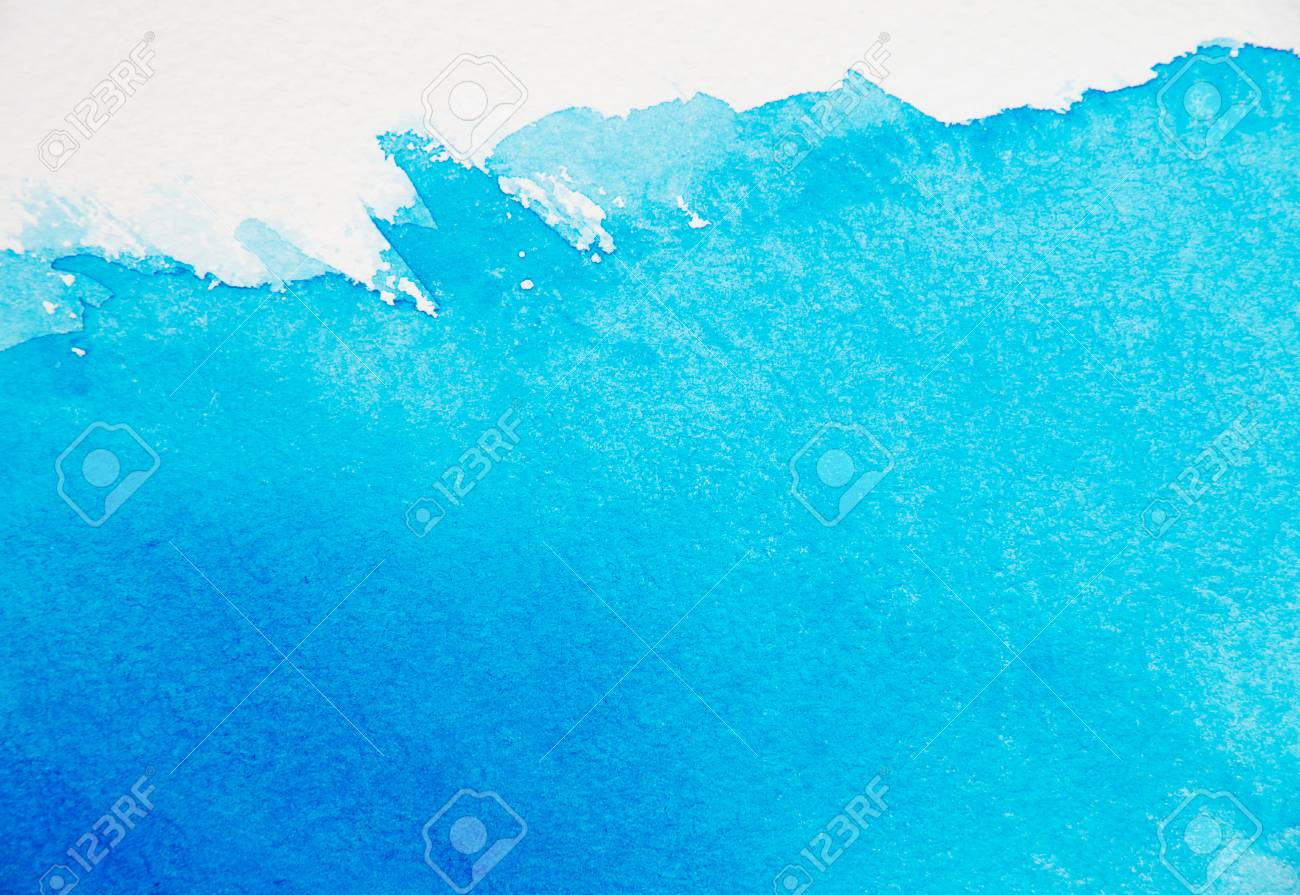 Abstract blue watercolor background - 59183068