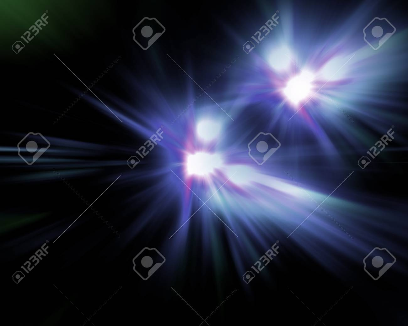 Abstract background with beams Stock Photo - 8669988